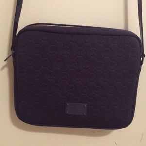 Purple Michael Kors crossbody bag